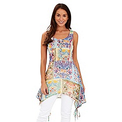 Joe Browns - Multi coloured myan charm tunic