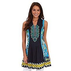Joe Browns - Blue terrific tribal tunic