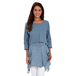 Joe Browns - Blue vintage traveller tunic