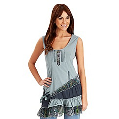 Joe Browns - Blue sensational tiered top