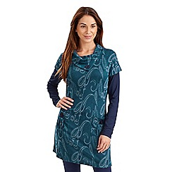 Joe Browns - Dark turquoise understated tunic