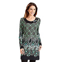 Joe Browns - Multi coloured funky paisley tunic