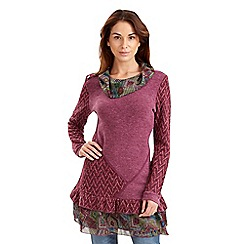 Joe Browns - Dark pink chill out tunic