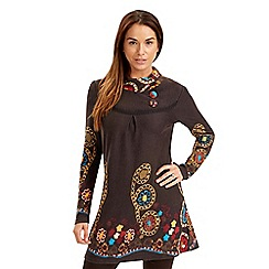 Joe Browns - Chocolate very wearable tunic