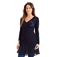 Joe Browns - Dark blue midnight dreamer tunic