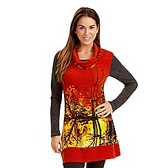 Joe Browns - Multi coloured winter wonderland tunic
