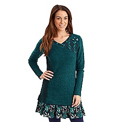 Joe Browns - Dark turquoise cosy comfy tunic