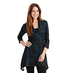 Joe Browns - Dark turquoise dawn 'til dusk tunic