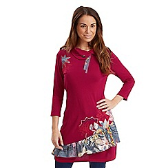 Joe Browns - Cerise funky fun time tunic