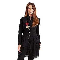 Joe Browns - Black statement longline tunic