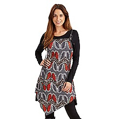 Joe Browns - Multi coloured butterfly tunic