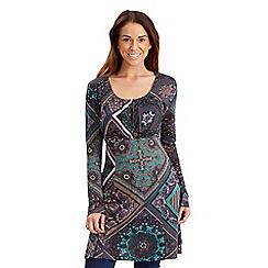 Joe Browns - Multi coloured marvellous mosaic tunic