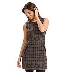 Joe Browns - Brown charismatic check tunic
