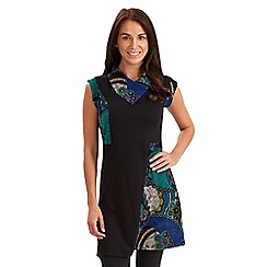 Joe Browns - Multi coloured joe's favourite split neck tunic