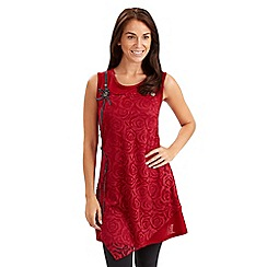 Joe Browns - Red rose tunic