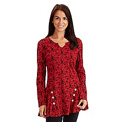 Joe Browns - Red easy wear tunic