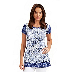 Joe Browns - Multi coloured harbour view tunic