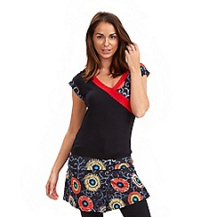 Joe Browns - Multi coloured mix it up jersey tunic