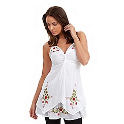 Joe Browns - White latin lover tunic