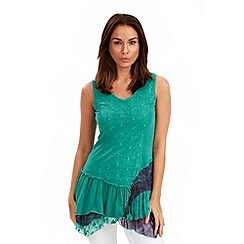 Joe Browns - Aqua terrific tiered tunic