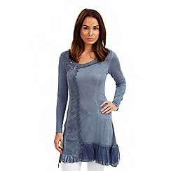 Joe Browns - Blue versatile longline tunic
