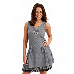 Joe Browns - Grey creative crinkle tunic