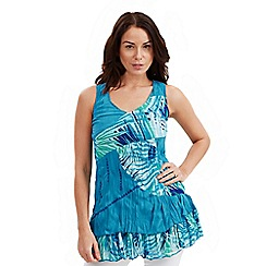 Joe Browns - Blue reversible tunic