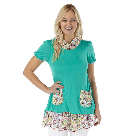 Joe Browns - Green relaxing tunic