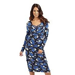 Joe Browns - Blue fabulous floral wrap dress