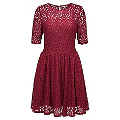 Joe Browns - Red love lace skater dress