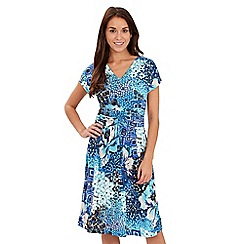 Joe Browns - Multi coloured famous flattering dress