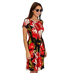 Joe Browns - Black floral san jose dress