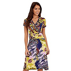 Joe Browns - Multi coloured mexicana jersey dress