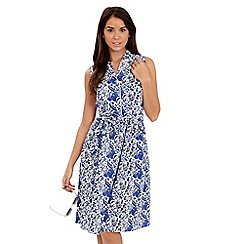 Joe Browns - Blue sexy shirt dress