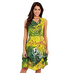 Joe Browns - Green veracruz dress