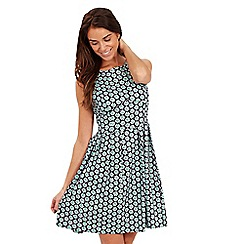 Joe Browns - Black daisy print skater dress