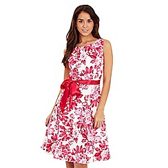 Joe Browns - Pink floral prom dress