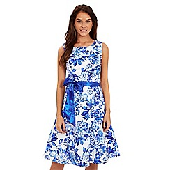 Joe Browns - Blue floral prom dress