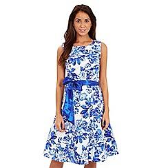 Joe Browns - Blue floral prom dress