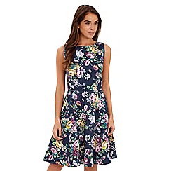 Joe Browns - Multi coloured jacquard skater dress
