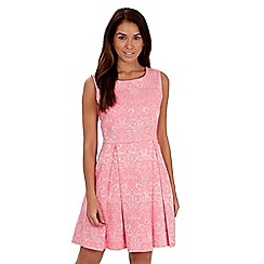 Joe Browns - Pink jacquard skater dress