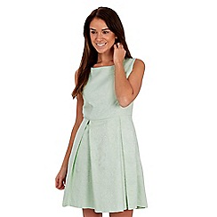 Joe Browns - Green jacquard skater dress