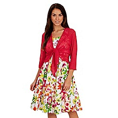 Joe Browns - Multi coloured totally tropical halterneck dress