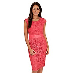 Joe Browns - Orange love my lace dress