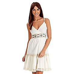 Joe Browns - Cream vintage traveller dress