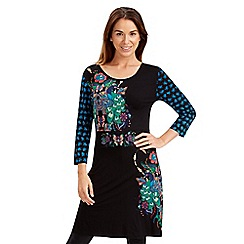 Joe Browns - Multi coloured perfect peacock dress