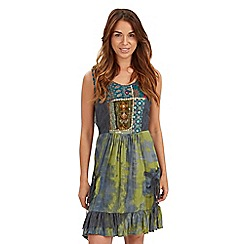 Joe Browns - Green sassy sequin detail dress