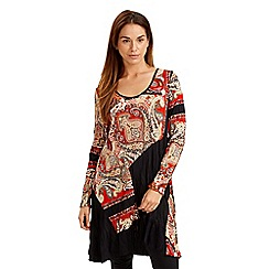 Joe Browns - Multi coloured paisley panel dress