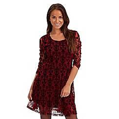 Joe Browns - Dark red inspiring lace dress