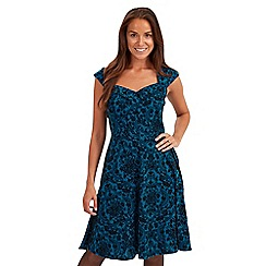 Joe Browns - Dark turquoise effortlessly sexy dress